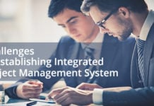 Challenges in Establishing an Integrated Project Management System