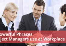 7 Powerful Phrases Project Managers use at Workplace