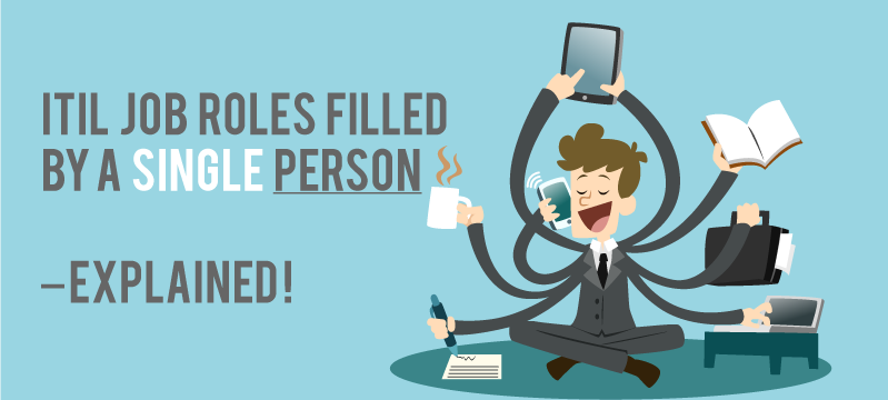 ITIL Job Roles filled by a Single Person
