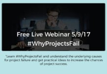 Why Projects Fail? – Live Webinar with Ori Schibi