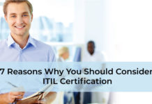 7 Reasons Why You Should Consider ITIL Certification