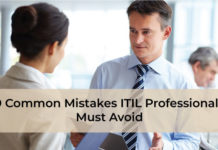 9 Common Mistakes ITIL Professionals Must Avoid