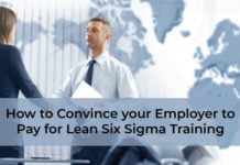 How to Convince your Employer to Pay for Lean Six Sigma Training