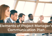 Elements of Project Manager's Communication Plan