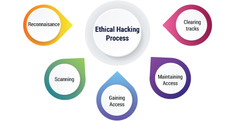 Ethical hacking- Ethical hacking process- Invensis Learning