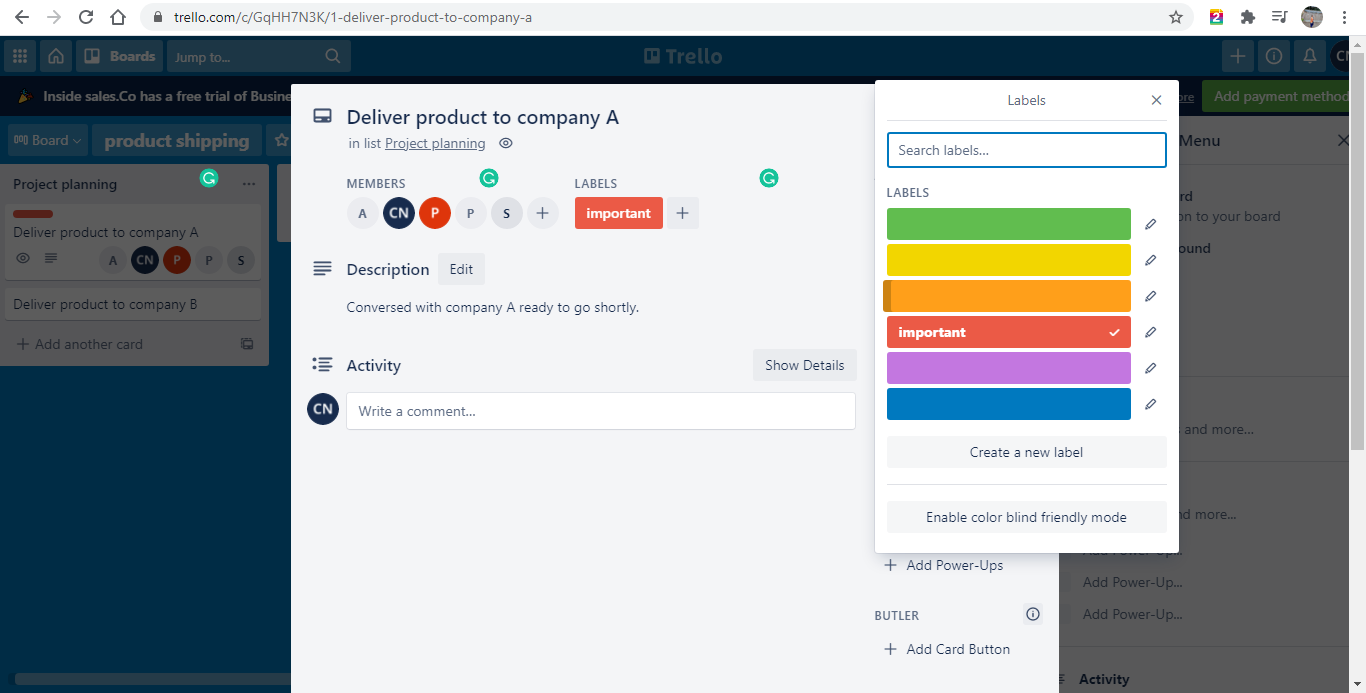 Agile project management- Trello demo 13- Invensis learning