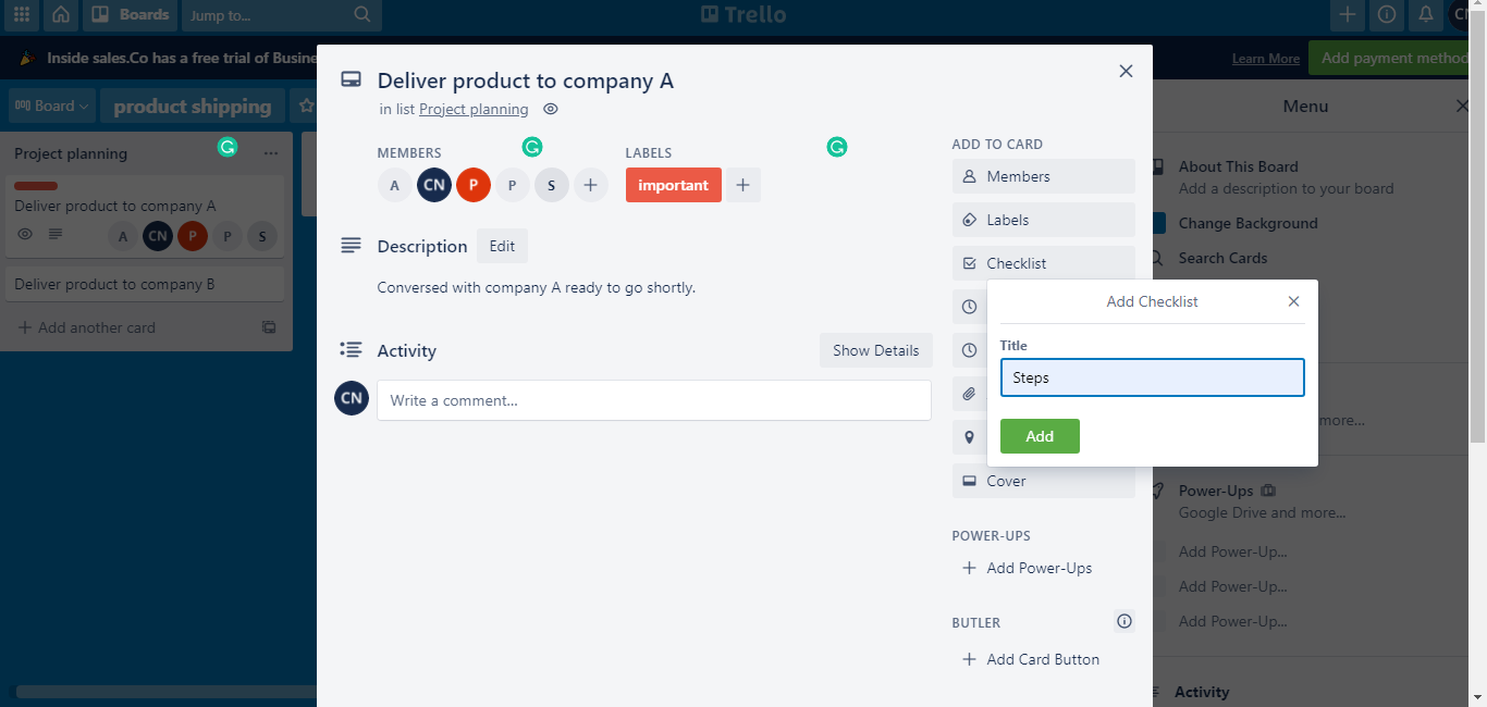 Agile project management- Trello demo 14- Invensis learning